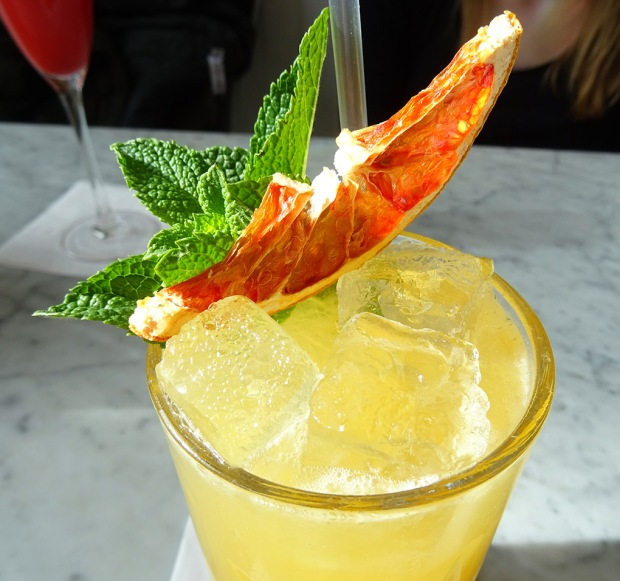 Copper Blossom tropical cocktail 2
